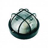 Byron BYRBE100Z Black Plastic Bulkhead Light - No Bulb