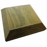 Green Treated Fence Post Cap 100mm square for  3