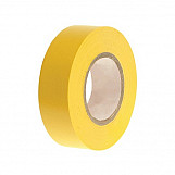 Faithfull FAITAPEPVCY PVC Electrical Tape Yellow 19mm X 20m