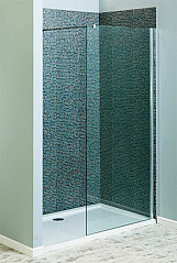 Eastgate 760mm Wet Room Shower Screen 8mm Toughened Glass