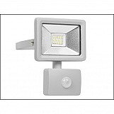 Byron BYRSL1DOB10 Ultra Slim Integrated LED Floodlight With Sensor 10 Watt 800 Lumen