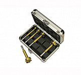 Faithfull Forstner Bit Set 5 Piece in Aluminium Case - Bit Hinge