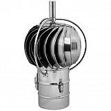 200mm Stainless Steel Rotating Spinning Chimney Cowl External Bearing