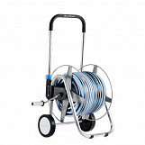 High Quality Wheeled Outdoor Garden Trolley Reel Watering Cart + 50m Hose