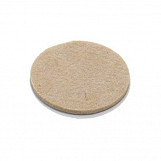 Round felt pads self adhesive 25mm (1in.) dia. (14 pcs)