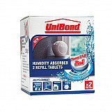 Unibond 1554712 Small Moisture Absorber Neutral Power Tab Refill (Pack Of 2)