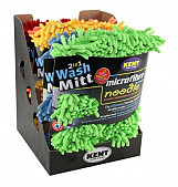 Kent Car Care - 2 in 1 Microfibre Noodle Wash Mitt - Valenting - Green