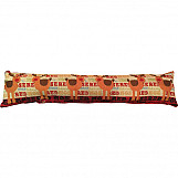 Christmas Tapestry Draught Excluder Holiday Design