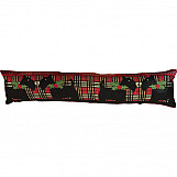 Christmas Tapestry Draught Excluder Reindeer Design