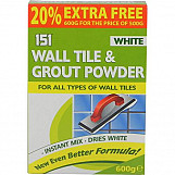 151 Wall & Tile Grout Powder 600g