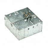 SMJ MBB35S Metal Box 1 Gang 35mm Depth - Loose