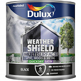 Dulux WeathershieldPaint Multi Surface 2.5L Black