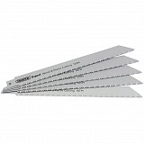 150mm Reciprocating Saw Blades (10tpi) - Pack of 5 Blades