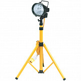 110V Halogen Worklamp (400W) on Telescopic Stand