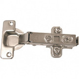 Concealed Soft Close Hinge Nickel Plate - 35mm