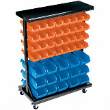 Expert 94 Bin Mobile Storage Unit (Small/Large Bins)