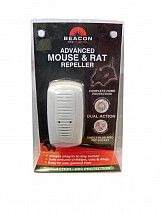 Advanced Mouse & Rat Repeller - Dual Action - Single Unit