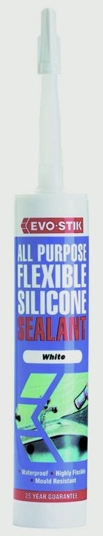 All Purpose Flexible Silicone Sealant - Black
