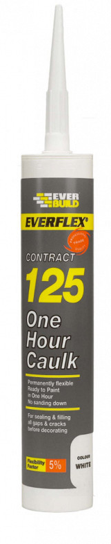 125 One Hour Caulk - C3 - White