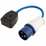 230V 16A to 13A Adaptor Lead