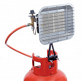 17, 000 BTU (5Kw) Propane Bottle Mounted Ceramic Heater