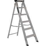 Class One Aluminium Builders Step Ladder - 6 Tread