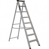 Class One Aluminium Builders Step Ladder - 8 Tread
