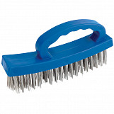 160mm D-Handle Wire Brush