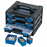 3 Tray Stacking Organiser Unit