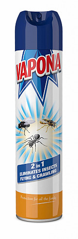 2 In 1 Flying And Crawling Insect Spray - 400ml