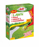 3 In 1 Lawn Feed Weed & Moss Killer - 3.5kg