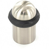 Brushed Nickel Concealed Fix Door Stop - 30mm