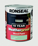 10 Year Weatherproof Woodpaint Gloss 750ml - Duck Egg