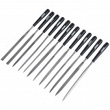 12 Piece 140mm Needle File Set