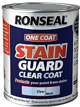 One Coat Stain Guard Clear Coat - 750ml
