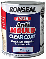 6 Year Anti Mould Clear Coat - 2.5L