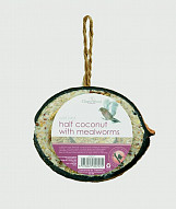 1/2 Coconut - Mealworms