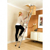Easiway 3 Section Aluminium Loft Ladder