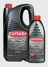 15W-40 Mineral Turbo Diesel Oil - 4.55L