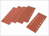 1/2 Sanding Sheets Orbital 115mm x 280mm Punched Assorted (Pack of 5)