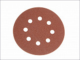 Aluminium Oxide Disc DID3 Holed 125mm x 60g (Pack of 25)