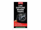 Live Capture Mouse Traps (Pack of 2)