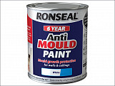 6 Year Anti Mould Paint White Matt 2.5 Litre