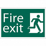 'Fire Exit' Safety Sign