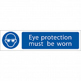 'Eye Protection' Mandatory Sign