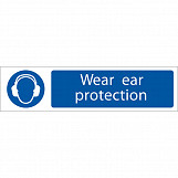 'Ear Protection' Mandatory Sign
