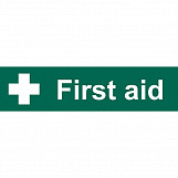 'First Aid' Safety Sign
