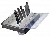 2607010542 Robust Line Wood and Metal Jigsaw Blade Set 10 Piece