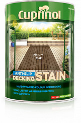 Anti Slip Decking Stain 5L - Natural