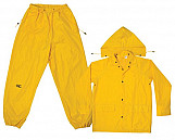 R102 3-Piece Yellow Polyester Suit - M